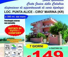 Palace Florence Appartamentiscilanga mare punta Alice